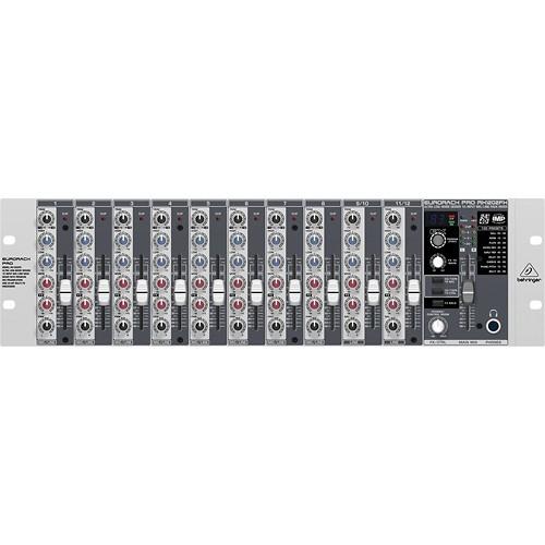 Behringer - EURORACK PRO 12-Input Microphone/Line Rack Mixer
