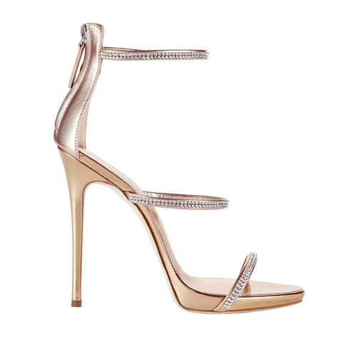 Coline Strappy Crystal Sandals