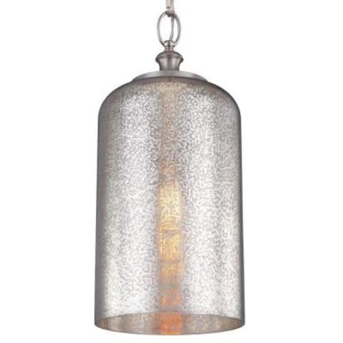 Hounslow 1-Light Brushed Steel Pendant