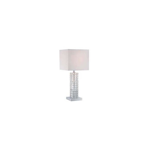 Filament Design 22.5 in. Polished Chrome Table Lamp