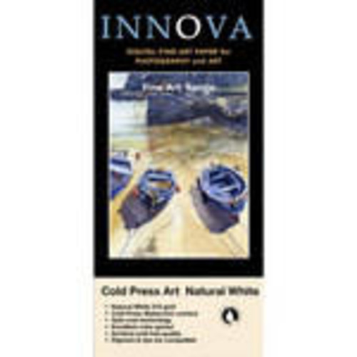 Cold Press Rough Textured Natural White Paper for Inkjet (36x48