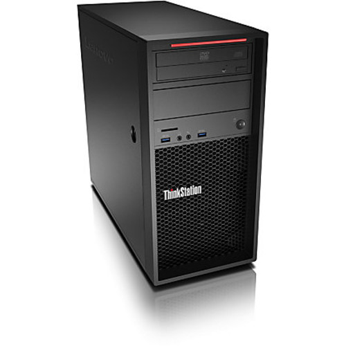 Lenovo ThinkStation P410 30B3001SUS Workstation - 1 x Intel Xeon E5-1630 v4 Quad-core (4 Core) 3.70 GHz - 16 GB DDR4 SDRAM - 256 GB SSD - NVIDIA Quadro M2000 4 GB Graphics - Windows 10 Pro 64-bit