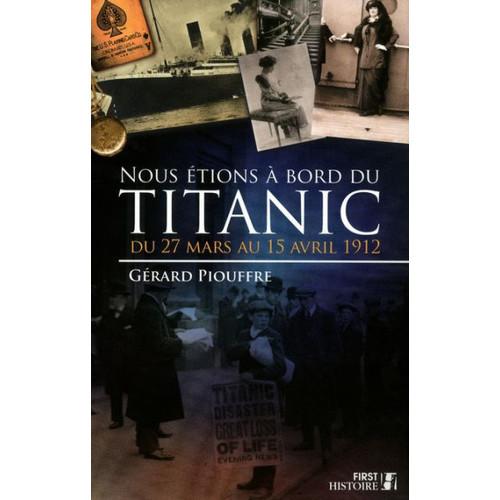 Nous tions  bord du Titanic
