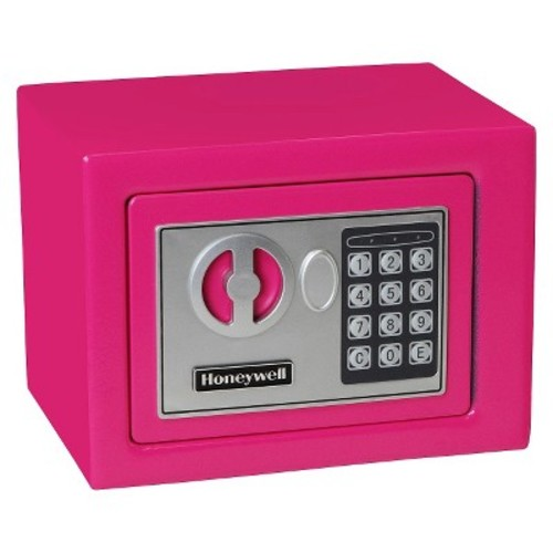 0.17 Cu. Ft. Steel Security Safe - Pink