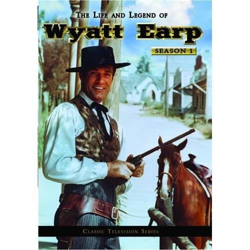 The Life And Legend Of Wyatt Earp: The Complete Series (DVD)