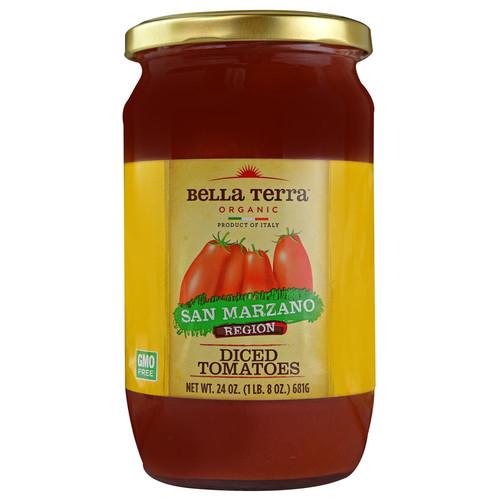 Bella Terra Organic Diced Tomatoes -- 24 oz