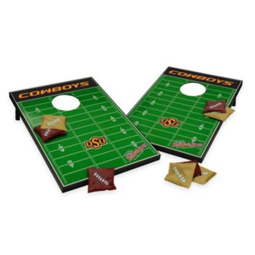 NCAA Oklahoma State University Field Tailgate Toss Cornhole Game
