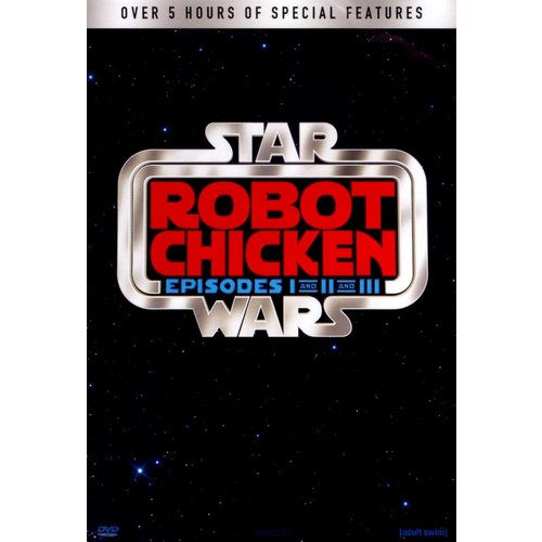 Robot Chicken: Star Wars I-III [3 Discs] [DVD]
