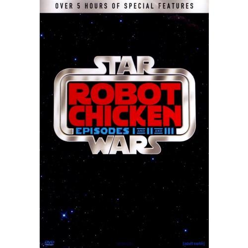 Robot Chicken: Star Wars I-III [3 Discs] [DVD]