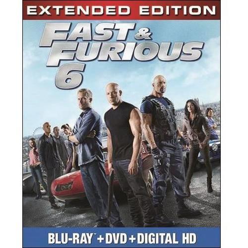 Fast & Furious 6 (Blu-ray + Digital Copy)