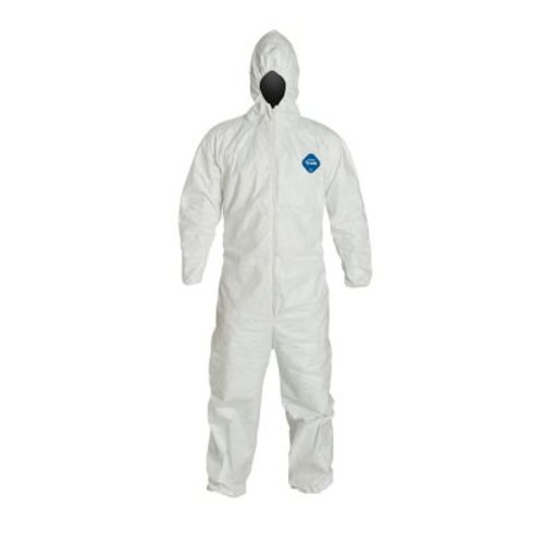DUPONT Tyvek Disposable Coverall with Hood