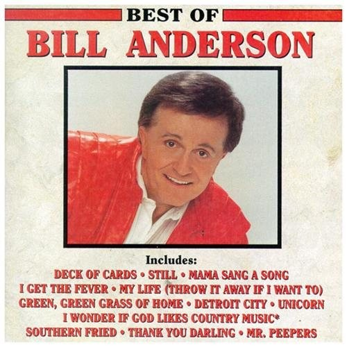 Best Of Bill Anderson CD (2008)