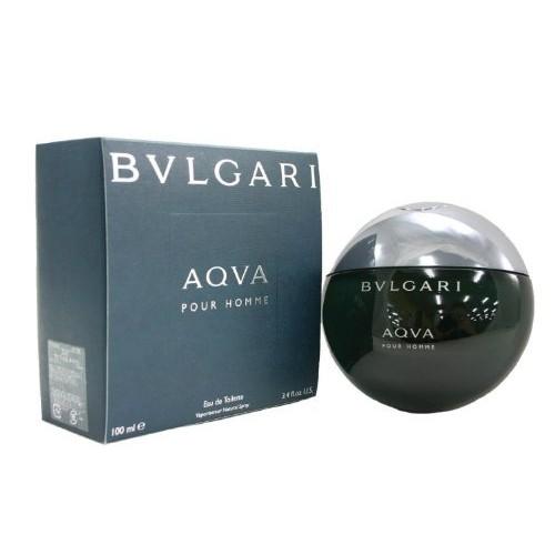 Bvlgari Aqva Pour Homme for Men 3.4 Oz Eau De Toilette Spray