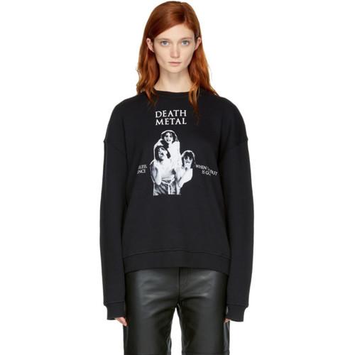 Black 'Death Metal' Sweatshirt
