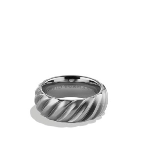 Modern Cable Band Ring