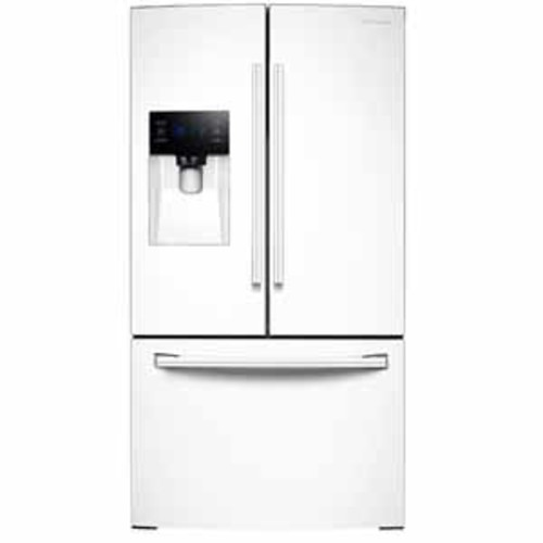 Samsung 25 cu. ft. French Door with External Water & Ice Dispenser - White