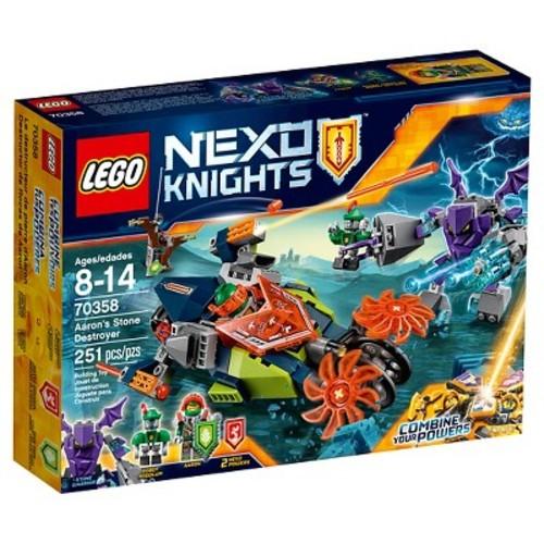 LEGO Nexo Knights Aaron's Stone Destroyer 70358
