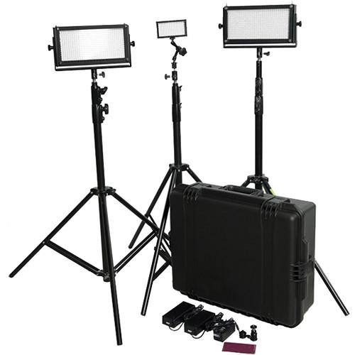 LED Travel Video Lighting Kit