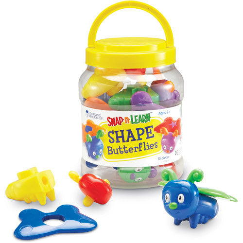 Learning Resources Snap-n-Learn Shape Butterflies