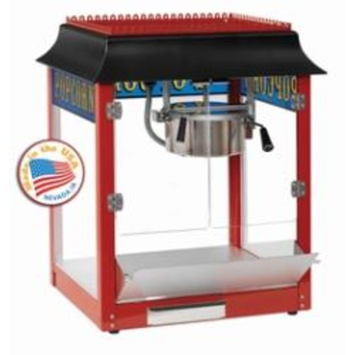 Paragon 1911 6-oz Red Popcorn Machine