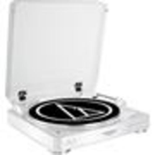 Audio-Technica AT-LP60-BT (White) Fully automatic wireless turntable with built-in phono preamp and Bluetooth