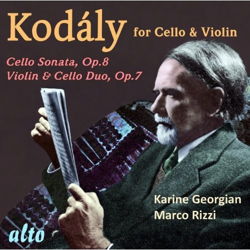 Kodly: Works for Cello & Violin