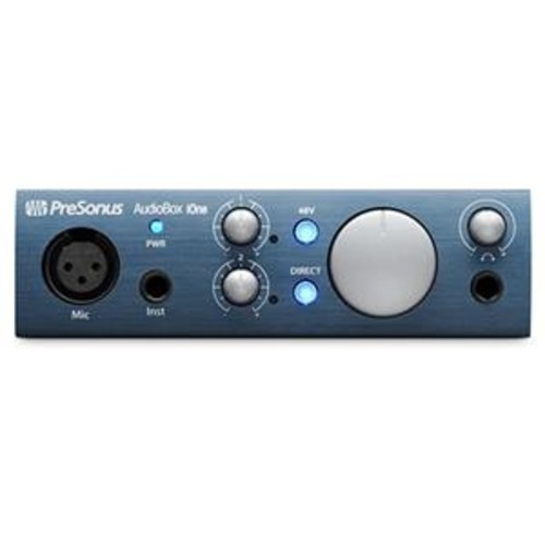 PreSonus AudioBox iOne USB 2.0/iPad Recording Interface, 1 Mic Input AUDIOBOX IONE