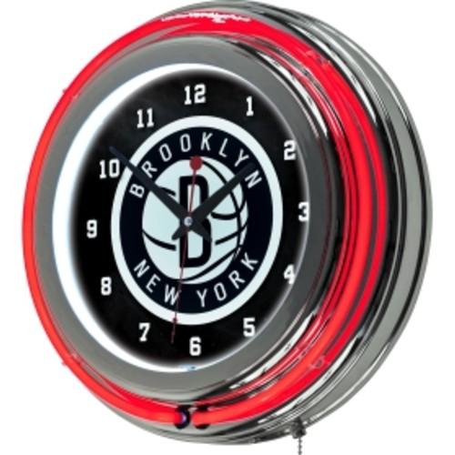 Trademark Games Brooklyn Nets 14'' Neon Clock