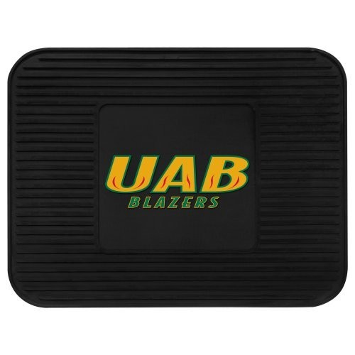 Fanmats 12473 University of Alabama at Birmingham Blazers Rear Second Row Vinyl Heavy Duty Utility Mat [Black, Rear]