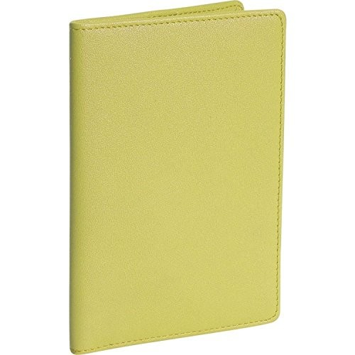 Royce Leather Passport Holder and Travel Document Organizer in Leather [Light Green]
