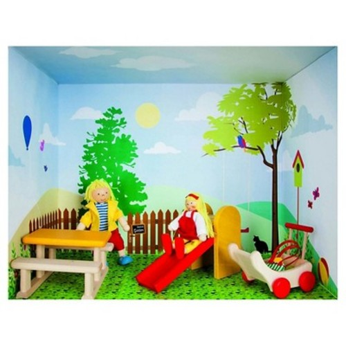 Rulke Puppenhaus Im Regal Doll House Modular Play Set - Playground