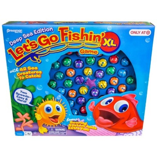 Let's Go Fishing XL Board Game