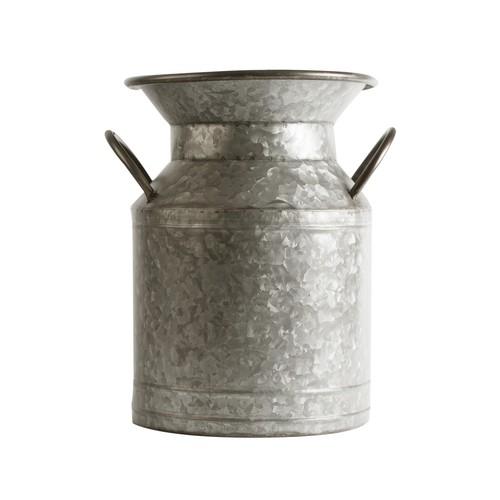 Home Essentials and Beyond Galvanized Flower Bucket