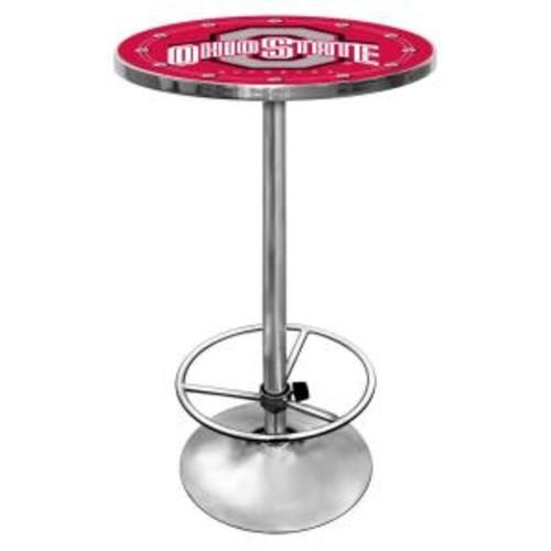 Trademark The Ohio State University Chrome Pub/Bar Table