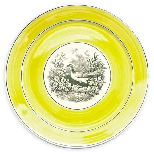 German Mottahedeh Wild Bird Plate