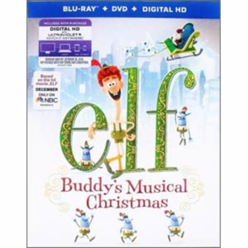 Elf: Buddy's Musical Christmas [Blu-Ray] [DVD] [Digital HD]