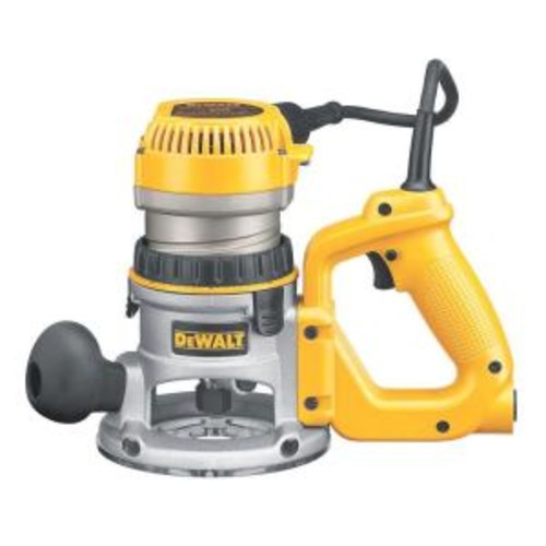 DEWALT 2-1/4 HP Electronic Variable Speed D-Handle Router with Soft Start