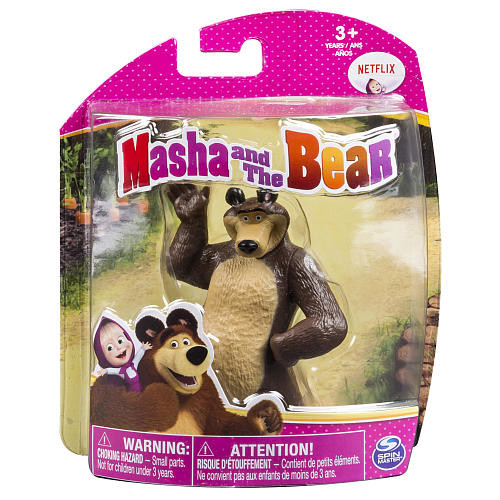 Masha and The Bear 4 inch Collectible Figure - Classic Bear