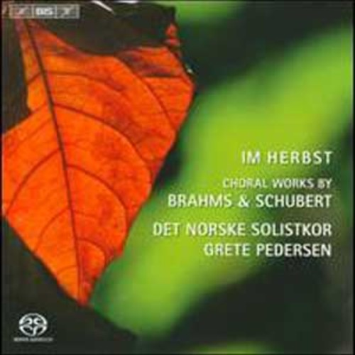 Im Herbst: Choral Works by Brahms & Schubert By Norwegian Soloists Choir (Super Audio CD (SACD))
