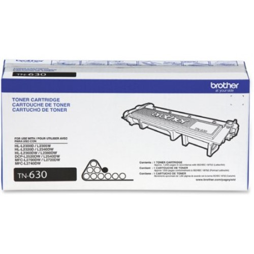 TN630 Standard Yield Black Toner Cartridge