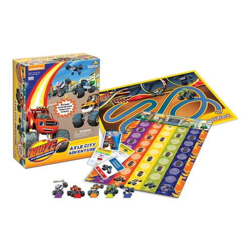 Blaze & The Monster Machines Axle City A...