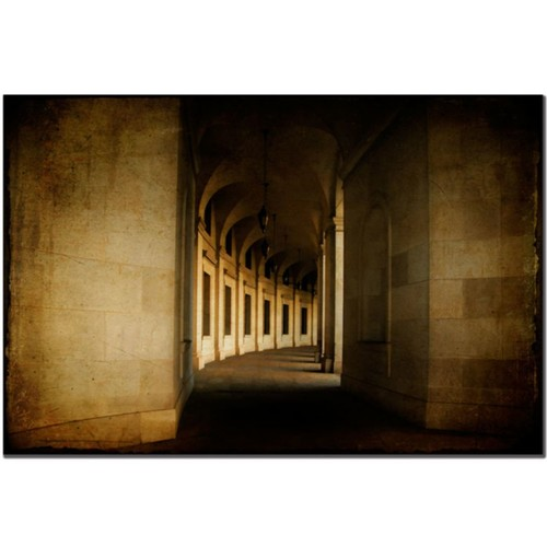 Trademark Fine Art Hallowed Halls by Lois Bryan Canvas Art 24x32 Inches