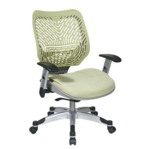 Office Star Space Seating SpaceFlex Mesh Office Chair, Black