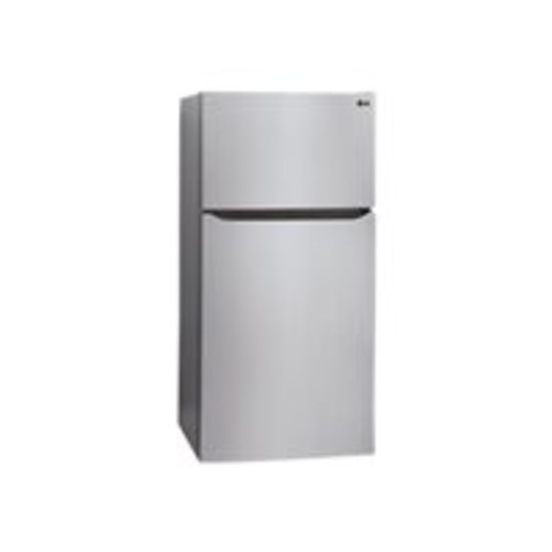 LG - 20.2 Cu. Ft. Top-Freezer Refrigerator - Stainless Steel