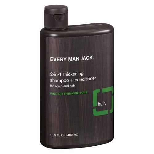 Every Man Jack 2-in-1 Thickening Shampoo + Conditioner for Scalp and Hair Tea Tree