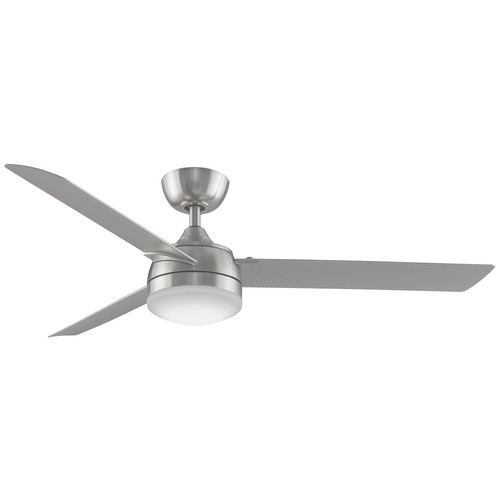 Xeno Ceiling Fan with Light [Finish : Brushed Nickel]