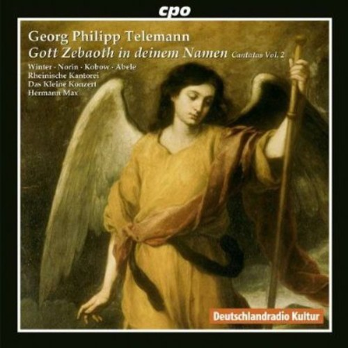 Gott Zebaoth in deinem Namen: Telemann Cantatas, Vol. 2 [CD]
