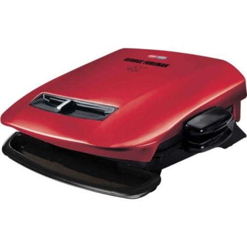 George Foreman 5 Serving Removable Plate Grill - 84 Sq. Inch. Cooking Area - Red (grp2841r)