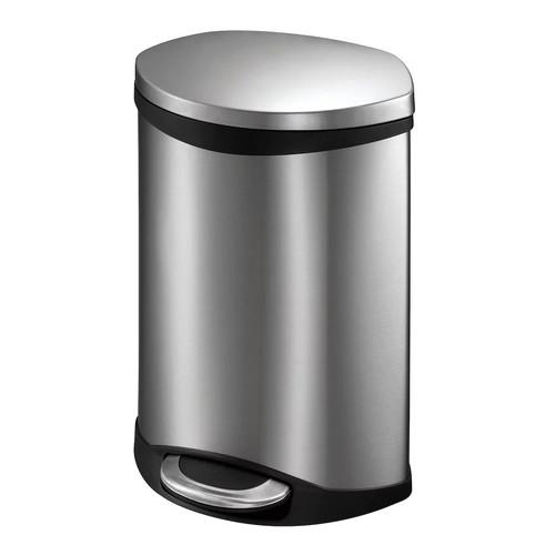 EKO Shell 50-Liter Hands-Free Trash Can