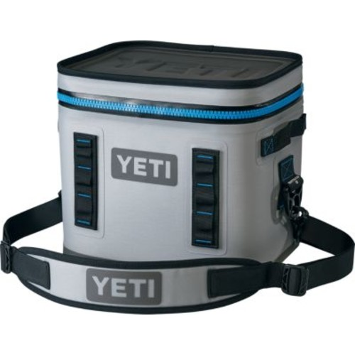 YETI Hopper Flip 12 Soft-Sided Cooler  Grey/Black [MODEL : GRAY/BLACK]